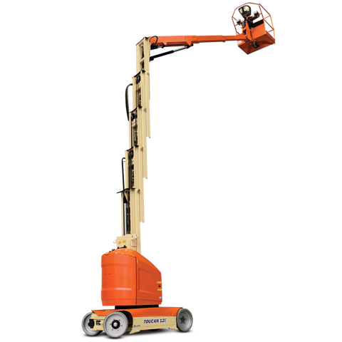 Electric Mast Boom Lifts